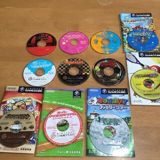 ニンテンドーゲームキューブ(ニンテンドーゲームキューブ)のゲームキューブ  マリオ ばっかり セット購入お願いします(家庭用ゲームソフト)