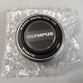 OLYMPUS - オリンパス レンズ M.ZUIKO DIGITAL 17mm 1:2.8 Φ37