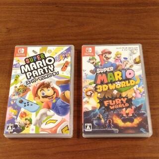 Nintendo Switch - マリオ3Dワールド マリオパーティ 任天堂スイッチソフト switch
