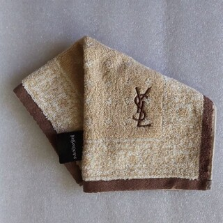 Yves Saint Laurent Beaute - イヴ・サンローラン  タオルハンカチ【新品未使用】