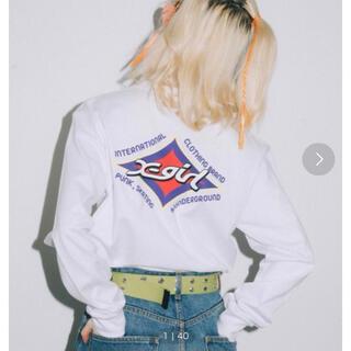 X-girl RHOMBUS LOGO REGULAR L/S TEE