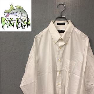 コストコ(コストコ)のKIRKLAND ホワイトシャツ US古着 ビッグシルエット ダボ ストリート(シャツ)