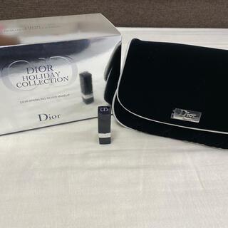 Dior - [新品未使用] Diorベロア生地ポーチ