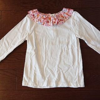 ジャカディ(Jacadi)のjacadi 4A 100 リバティ 襟 コットンTシャツ(Tシャツ/カットソー)