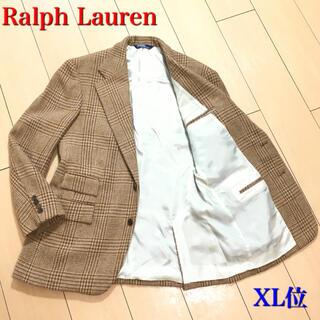 ラルフローレン(Ralph Lauren)の極美品★ラルフローレン 極上ツイードジャケット キャメル ブラウン 秋冬A600(テーラードジャケット)