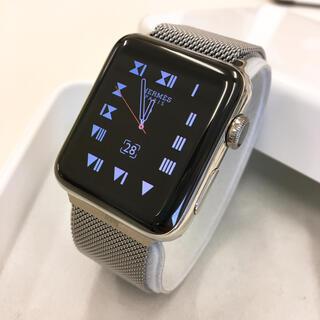 アップルウォッチ(Apple Watch)のApple Watch HERMES series2 アップルウォッチ 42mm(その他)
