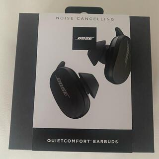 BOSE - bose QuietComfort Earbudsブラック新品