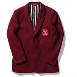 ルードギャラリー(RUDE GALLERY)のrude gallery 新品 スクール ジャケット コート ウール 刺繍(チェスターコート)