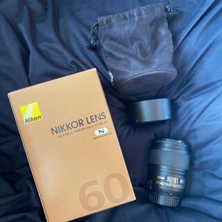 Nikon - Nikon 60mm f/2.8G AF-S Micro Nikkor AF