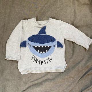 ザラキッズ(ZARA KIDS)のzara baby トップス サメ(ニット/セーター)