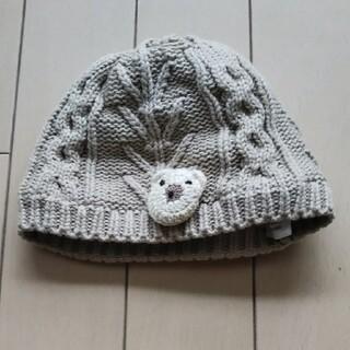 赤ちゃん ニット 帽子 くま