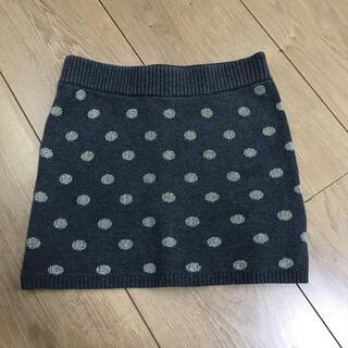 エイチアンドエム(H&M)のH&M ドットニットスカート(スカート)
