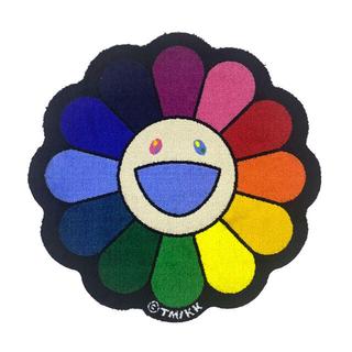 村上隆 Zingaro Flower Floor Mat / Rainbow(ラグ)