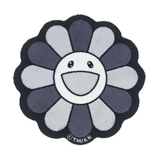 村上隆 Flower Floor Mat / Black × White(ラグ)