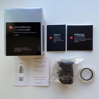 LEICA - 極美品 leica summilux-M 35mm f1.4 現行品 11663