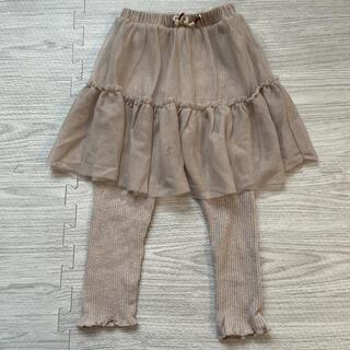 ザラキッズ(ZARA KIDS)のZarababy スカート リブパンツ スカッツ スカンツ(スカート)