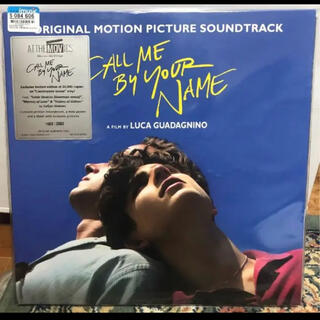 Soundtrack Call Me By Your Name LP レコード(映画音楽)