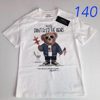 POLO RALPH LAUREN - ラルフローレン ポロベアTシャツ ホワイト BBQベア S/140