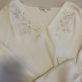 PROPORTION BODY DRESSING - プロポーション ニット フラワー刺繍