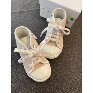 ベビーディオール(baby Dior)のbaby dior ハイカットベビースニーカー13,5cm(スニーカー)