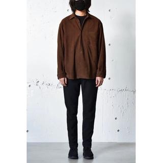 COMOLI - comoli スエードレザーシャツ 21AW サイズ3 新品未使用