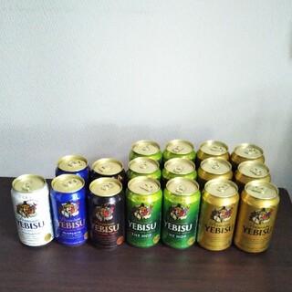 サッポロ(サッポロ)のエビスビール 350ml×17本(ビール)
