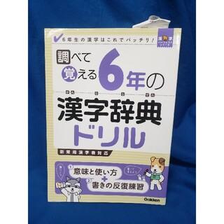 ガッケン(学研)の小学6年の漢字辞典ドリル(語学/参考書)