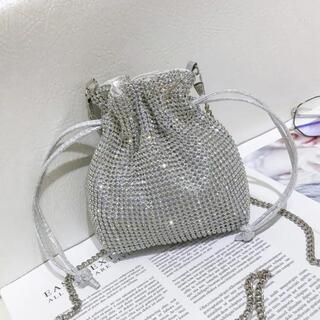 H&M - shein ミニバッグ キラキラ