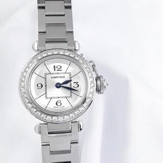 Cartier - 【仕上済】カルティエ ミスパシャ ダイヤ レディース 腕時計