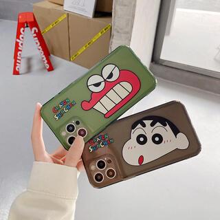 クレヨンしんちゃん チョコビ・ワニ山さん iPhoneケース スマホケース