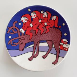 ARABIA - ARABIA ヴィンテージ クリスマスミニプレート
