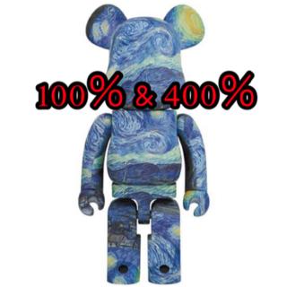 MEDICOM TOY - Vincent van Gogh BE@RBRICK 100% & 400%