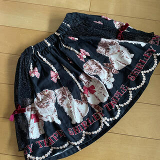 Shirley Temple - シャーリーテンプル 猫 スカート 120