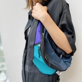 アパルトモンドゥーズィエムクラス(L'Appartement DEUXIEME CLASSE)のアパルトモン☆DRIFTER ドリフター WAIST PACK BAG☆ブルーA(ボディバッグ/ウエストポーチ)