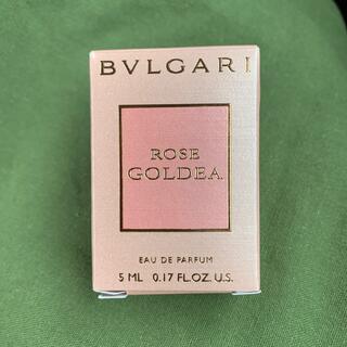 BVLGARI - 【ブルガリ 】ローズ ゴルデア オードパルファム 5ml