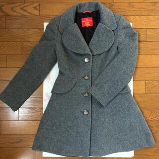 ヴィヴィアンウエストウッド(Vivienne Westwood)のVivienne Westwood ラブ襟コート(ロングコート)