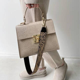 L'Appartement DEUXIEME CLASSE - アパルトモン【AULENTTI/オウレンティ】Shoulder Bag ベージュ