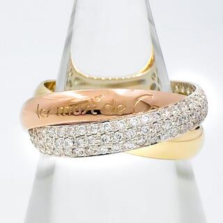 Cartier - 【保証書付】カルティエ トリニティリング 11号 51 ダイヤ 指輪 リング