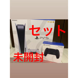 Plantation - PlayStation5本体+純正コントローラーセット