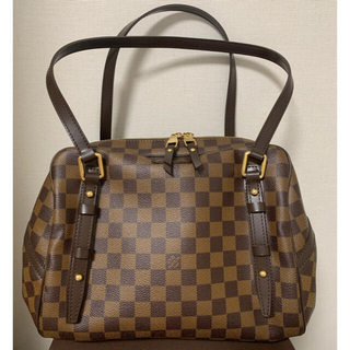 LOUIS VUITTON - ルイヴィトン リヴィントン PM ダミエ ショルダーバッグ 未使用に近い