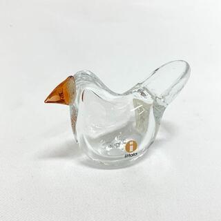 iittala - Birds by Toikka Scope 別注 Sieppo クリア オレンジ