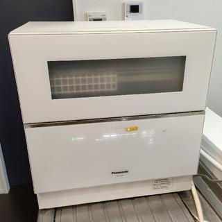 Panasonic - Panasonic 卓上型食器洗い乾燥機 NP-TZ100 (ホワイト)と分岐水