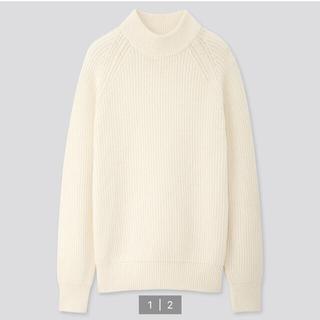 ユニクロ(UNIQLO)のユニクロ ミドルゲージモックネックセーター(ニット/セーター)