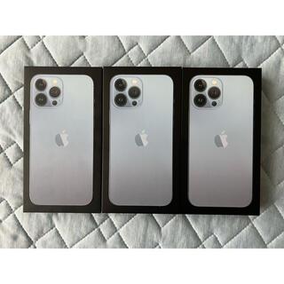 Apple - 【本日発送】iPhone13 Pro Max 128GB シエラブルー3台