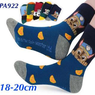 PA922 パウパトロール子供靴下18-20cm 5足セット