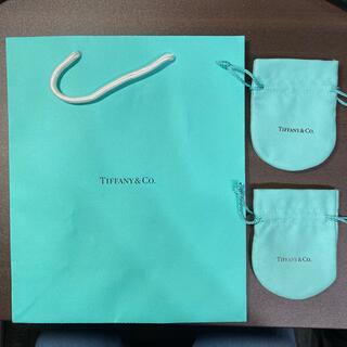 ティファニー(Tiffany & Co.)のティファニー 紙袋とミニ巾着2つセット(ショップ袋)