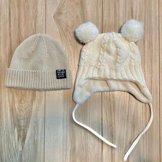 ブリーズ(BREEZE)のベビーニット帽(帽子)