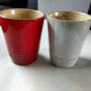 LE CREUSET - ル・クルーゼ ペア ショート タンブラー コップ 2個