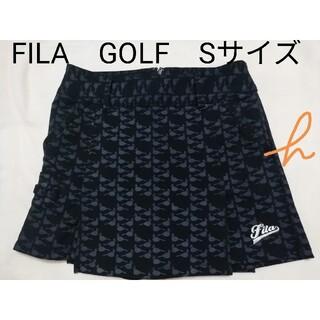 FILA - FILA ゴルフウェアレディースキュロットスカートスカート S 1回着用♪