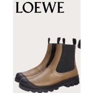 LOEWE - 新品未使用⭐️ロエベ カーフスキン チェルシー ショートブーツ